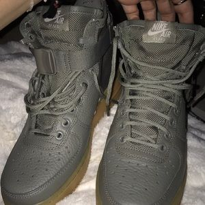 Nike Air Force ones .Special edition.